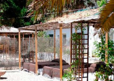 Jardín secreto balnerario de Lanjarón