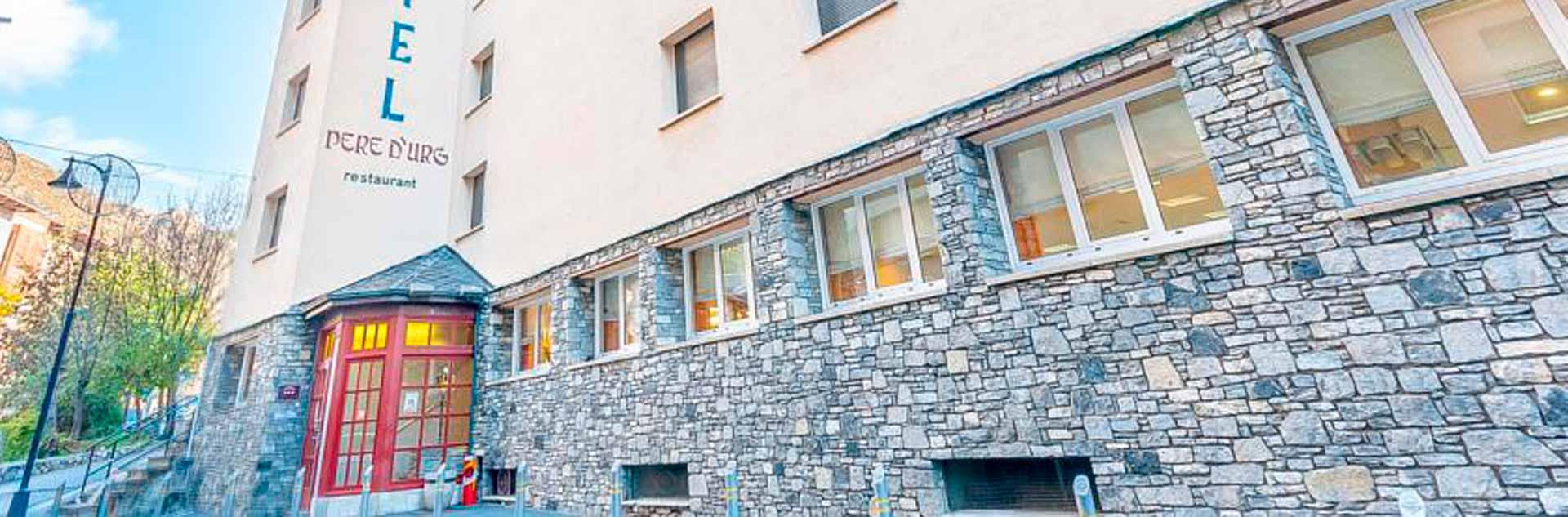 Hotel Pere d'Urg en Andorra - disponible para el Puente de Diciembre