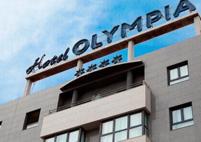 Fachada Hotel Olympia Spa 4*