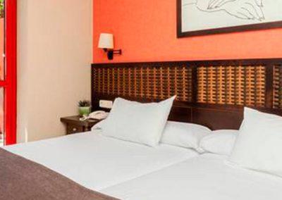 habitación doble Hotel Holiday Village
