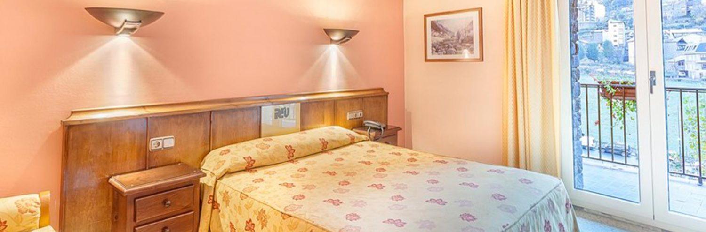 Hotel Pere d'Urg en Andorra - Habitación doble