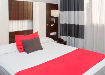 Habitación doble Hotel Villa Olímpica de Barcelona