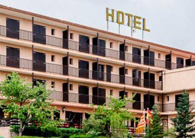 Fachada de Hotel Mora 3* en Teruel
