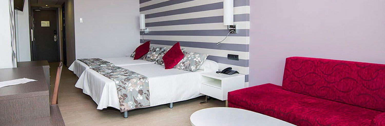 Habitación doble Hotel Vinarós Aura de Castellón