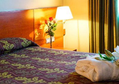 Habitación doble Hotel Zenit Diplomatic de Andorra