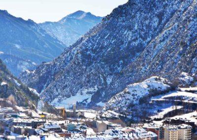 Vista panorámica de Encamp, Andorra