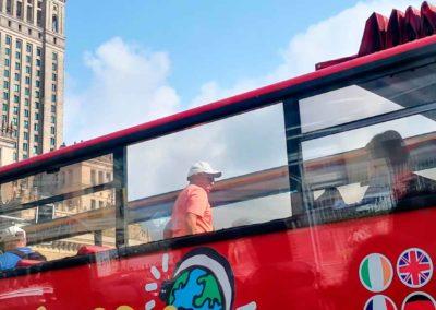 Bus turístico de Varsovia