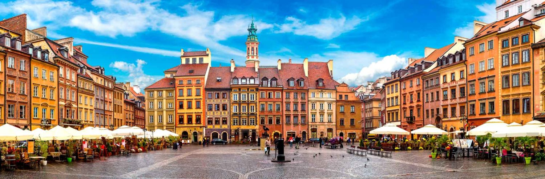Casco histórico de Varsovia