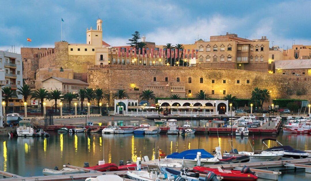 Antigua ciudad fortaleza de Melilla en España