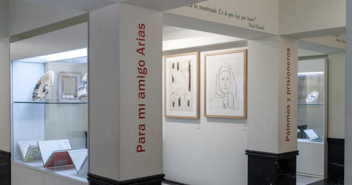 Ten escapada y conoce el Museo Picasso-Colección Eugenio Arias.