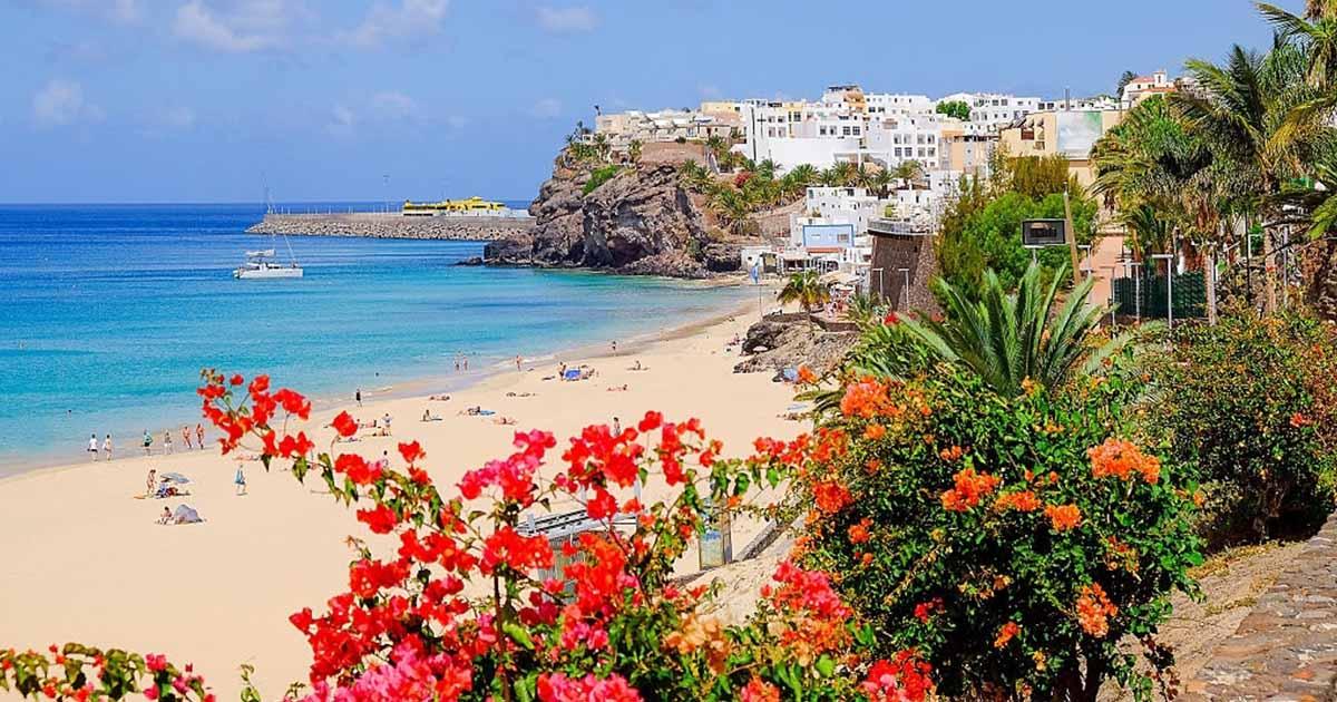 Vete de Chollo en enero 2021 a la playa de Morro Jable, en Fuerteventura