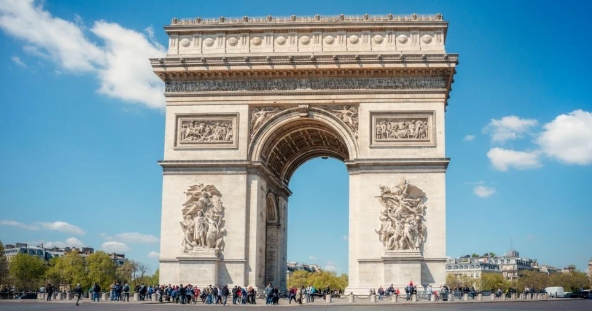 Visita el Arco del Triunfo de París, Francia